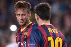 Neymar: No siento la presión por ausencia de Lionel Messi en Barcelona