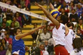 Resultado del partido: Perú vs Colombia (3-0) Vóley – Juegos Bolivarianos 2013