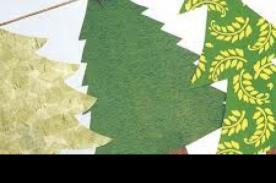 Como hacer una guirnalda para decorar tu árbol de Navidad