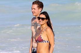 Demi Moore tendría relación con hombre 24 años menor que ella