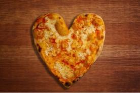Día de San Valentín: Prepara una pizza en forma de corazón