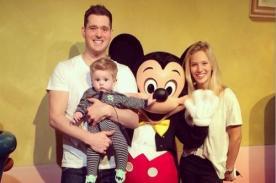 Hijo de Luisana Lopilato y Michael Bublé conoció a Mickey