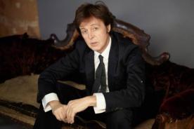 Paul McCartney anunció su concierto en Perú