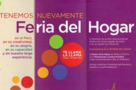 Regresa la recordada Feria del Hogar en mayo