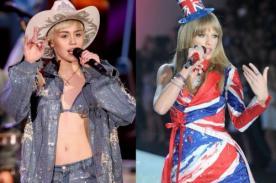 Miley Cyrus y Taylor Swift se enfrentan en los Kids Choice Awards 2014