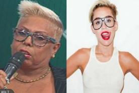 ¿Lucía de la Cruz imita peinado de Miley Cyrus? - Foto