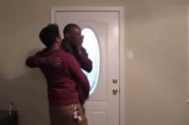 Increíble: Mendigo recibe una increíble sorpresa - Video