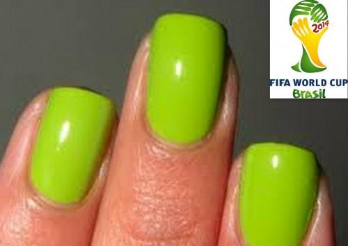 Manicure mundialista: luce tus uñas al estilo Brasil 2014