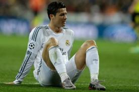 Según médicos especialistas, CR7 no debe jugar entre uno y tres meses