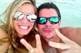 Alejandra Baigorria y Mario Hart publican fotos de sus vacaciones