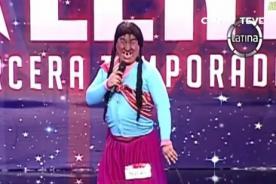 Perú Tiene Talento:  La Paisana Jacinta se presenta en casting [Video]