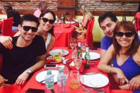 Magaly Medina no esperaba encontrarse con ELLA tras viajar por Semana Santa [FOTO]