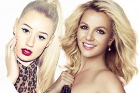 ¡Britney Spears e Iggy Azalea por poco y se besan en videoclip!
