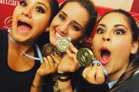 Ximena Hoyos y Pierina Zignago ganan medalla en Argentina - FOTOS