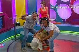 Amor, Amor, Amor: ¡Geni Alves sufrió terrible desmayo en vivo! - FOTO
