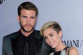 ¡Miley Cyrus y Liam Hemsworth pasan momentos felices en familia!