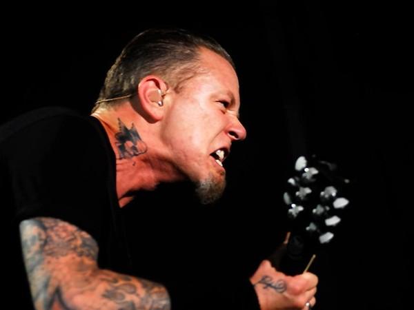 Metallica en Lima: Alex Kouri se tomó una foto con James Hetfield