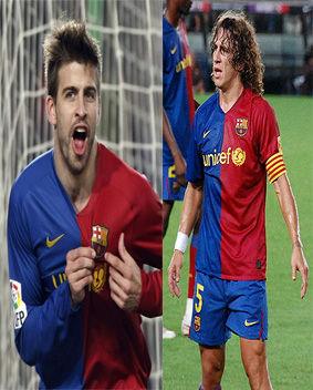 Barcelona: Puyol y Piqué reaparecen este fin de semana