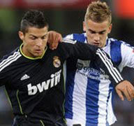 Video del Real Sociedad vs Real Madrid (0-1) – Liga española 2011