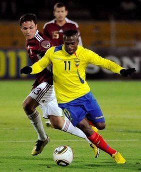 Gol del Ecuador vs Venezuela (0-1) – Copa América 2011