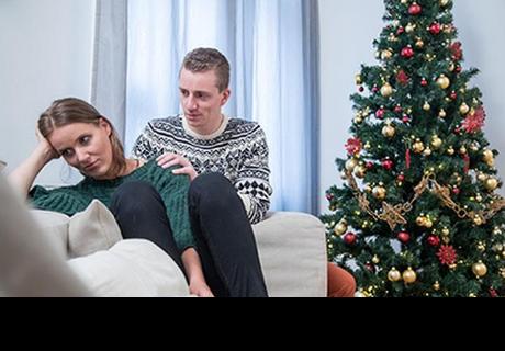 Problemas comunes de pareja durante la época navideña