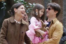Tom Cruise disfruta llevar a su esposa e hijos al trabajo