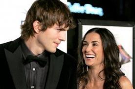 Demi Moore y Ashton Kutcher coincidieron en evento el último sábado