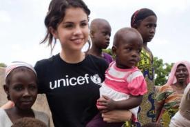 Selena Gomez viajará al Congo con Unicef