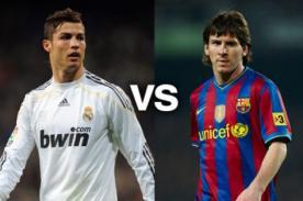 Lionel Messi y Cristiano Ronaldo pelearán mañana por la Bota de Oro
