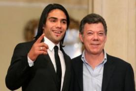 Presidente de Colombia: Falcao es un orgullo para nuestro país
