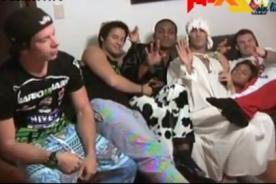 Combate: Chicos del programa se confesaron en divertida pijamada - Video