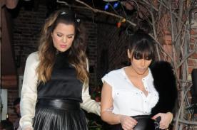 Khloé Kardashian indignada por críticas al peso de Kim Kardashian