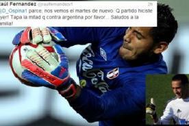 Raúl Fernández a David Ospina: Nos vemos el martes - Colombia vs. Perú