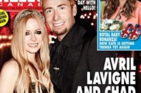 ¡Al fin se puede ver el vestido que usó Avril Lavigne en su boda privada!