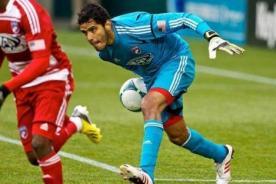 Raúl Fernández fue elegido para integrar el equipo de la MLS ante la Roma