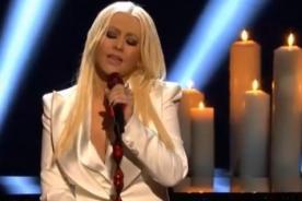 Christina Aguilera considerada la peor intérprete del himno de EEUU