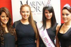 Marina Mora  se solidariza con Miss Perú tras robo de joyas