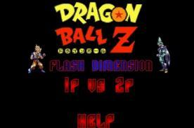 Friv para 2: Dragon Ball Z Flash Dimension en Friv 2013 - Juégalo Gratis