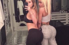 Kim Kardashian presume su cuerpo en sexy selfie