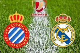 Copa del Rey: Espanyol vs Real Madrid en vivo por ESPN