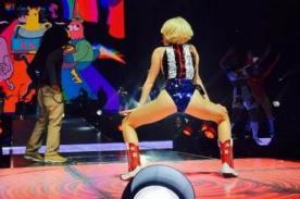 Miley Cyrus dispuesta a dejar poco a la imaginación en su gira (Fotos)