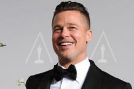 Brad Pitt: Nunca imaginé ser galardonado con un Oscar