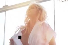 Annabel Torres derrocha sensualidad y posa semidesnuda - Video