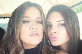 Khloé Kardashian y Kendall Jenner lucen sus curvas en infartantes fotos