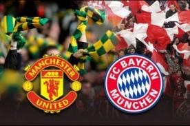 Video de goles: Bayern Munich vs Manchester United (3-1) - Champions League