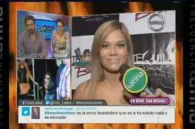 VIDEO: ¿Qué dijo Andrea San Martín sobre el ampay a Sebastian Lizarzaburu?