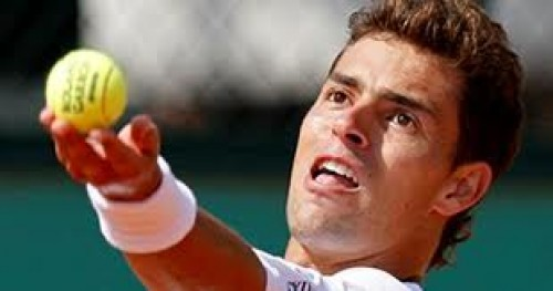 Tenis: Santiago Giraldo no pudo con Roberto Bautista en el Máster 1000 de Madrid