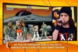 Joven imita todos los sonidos de una pelea de Street Fighter II [Video]
