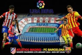Canales de transmisión en vivo del Barcelona vs Atlético de Madrid