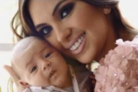 Natalie Vértiz jugando con su bebé Liam Eskenazi [VIDEO]
